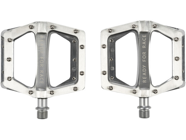 Cube RFR Flat Race Pedals, grey